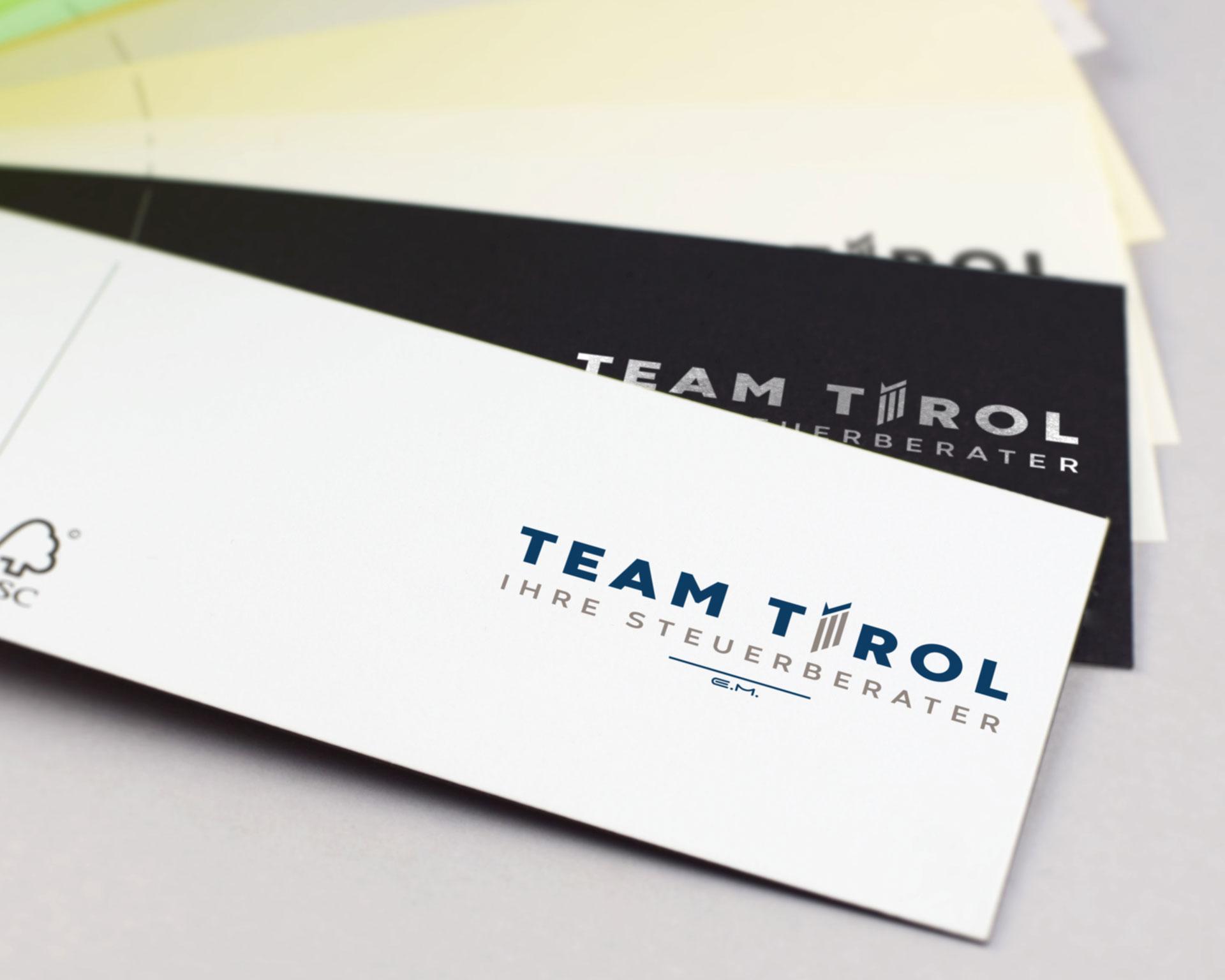 Werbeagentur - agentur 13 Tirol, Team Tirol Logodesign