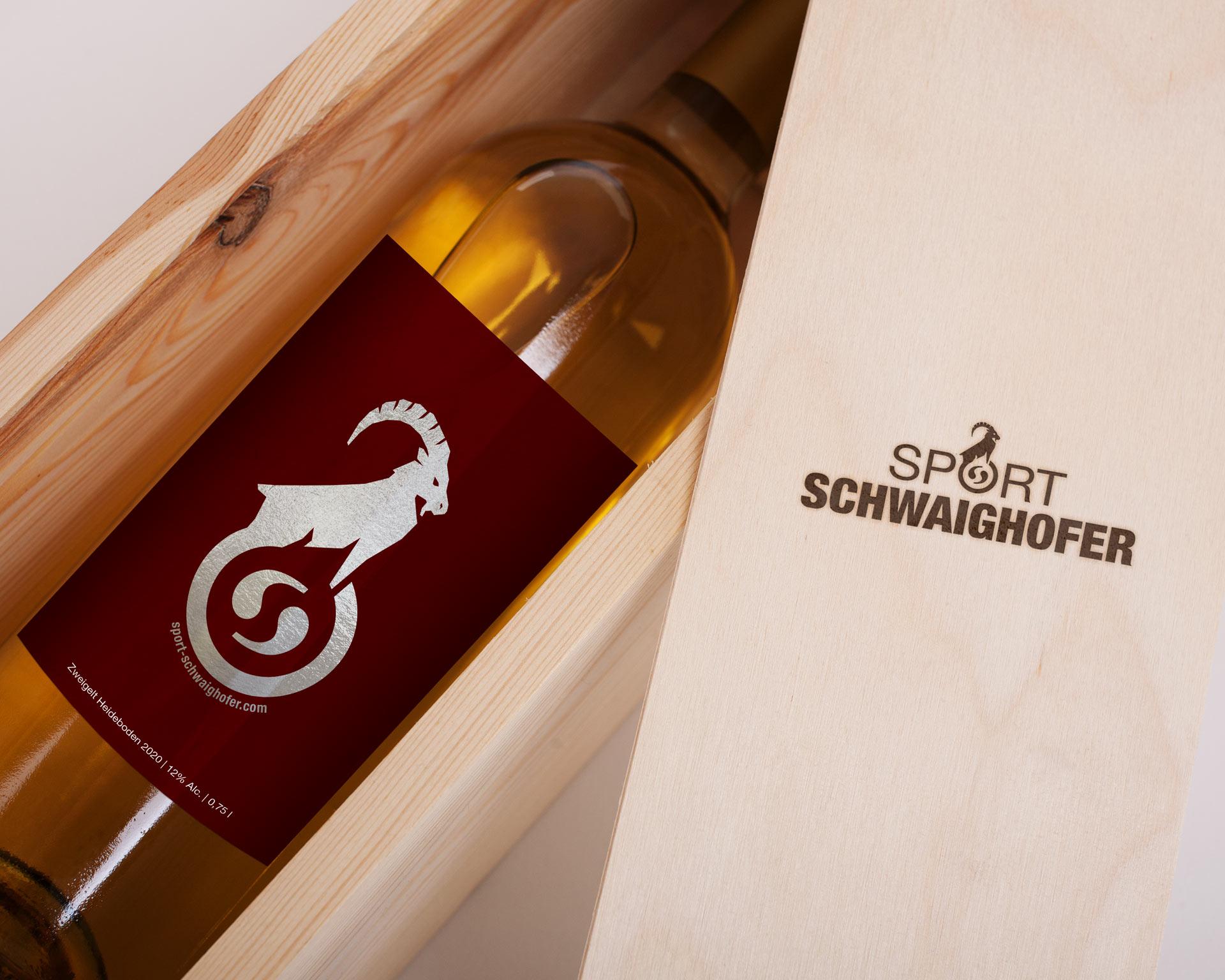 Werbeagentur - agentur 13 Tirol, Sport Schwaighofer, Grafikdesign