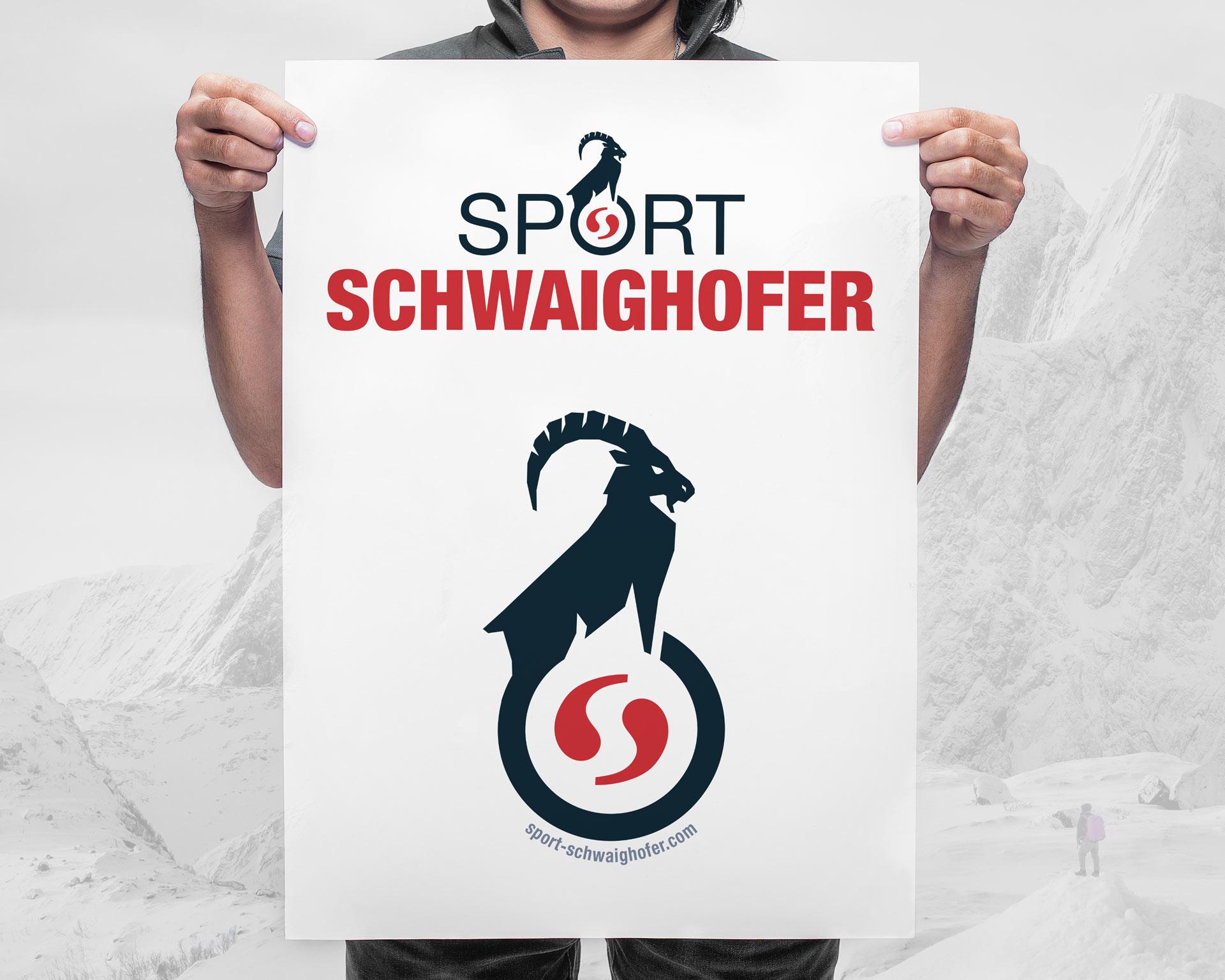 agentur 13, Werbeagentur Tirol, Sport Schwaighofer, Logodesign
